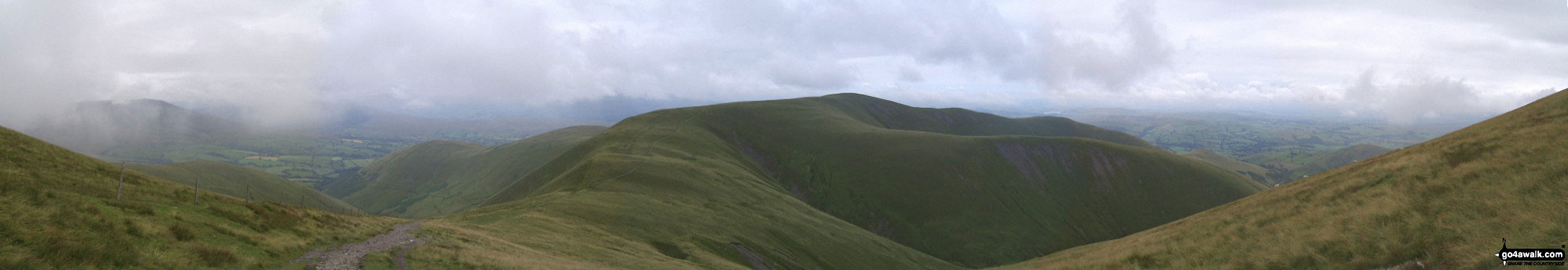 Arant Haw from (just below) Calders summit