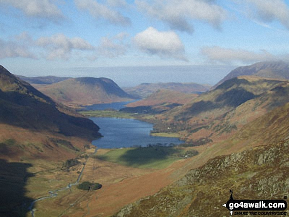 Buttermere from Hay Stacks