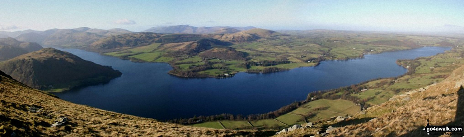 Ullswater from Bonscale Pike