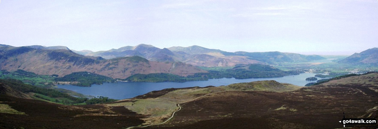 Derwent Water from Bleaberry Fell
