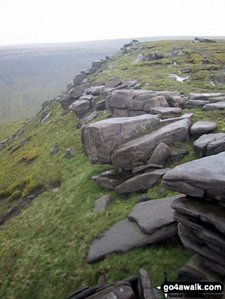 On Stable Stones Brow (Hoarstone Edge)