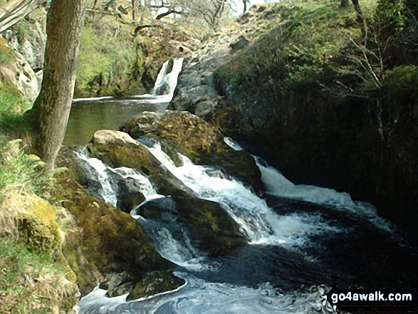 The Ingleton Waterfalls