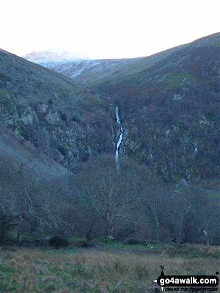 Walk gw171 Bera Bach from Bont Newydd - Aber Falls
