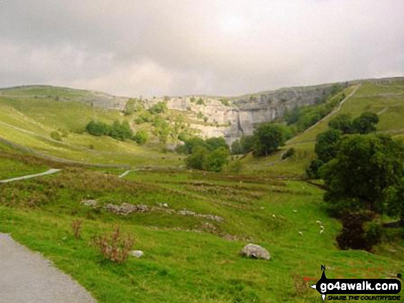 Malham Cove from Malham