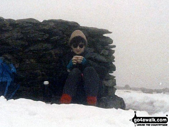 Christmas Day on top of Helvellyn