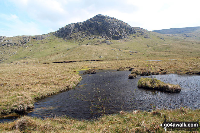 Bell Crags (Watendlath) from Blea Tarn