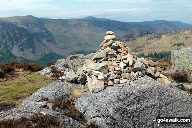 Great Crag summit cairn