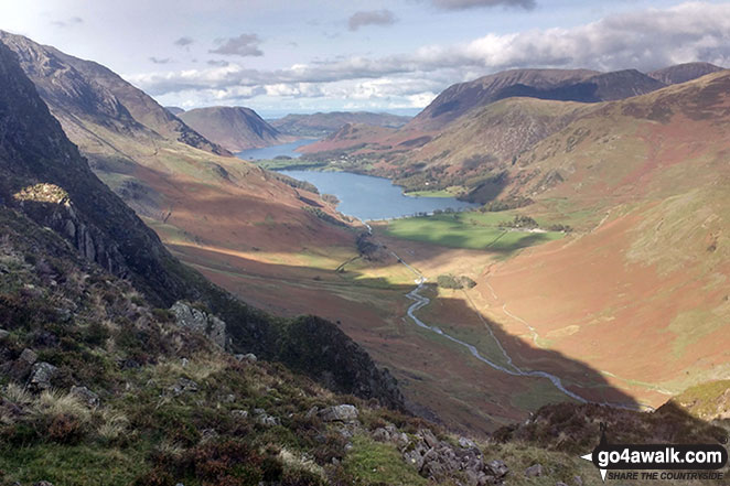Crummock Water and Buttermere from Hay Stacks (Haystacks)