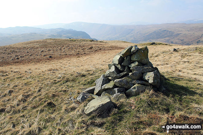 Langhowe Pike summit cairn