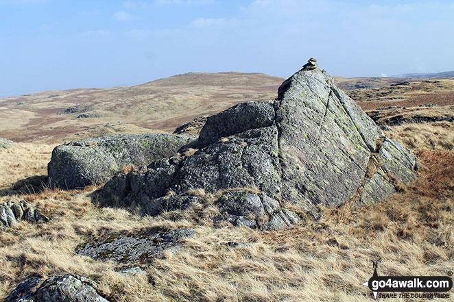 Fewling Stones summit cairn