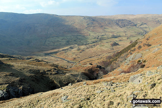 Mosedale from Fewling Stones