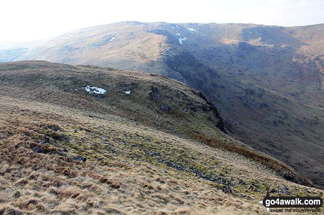 Branstree (Artlecrag Pike) from Nabs Moor Summit