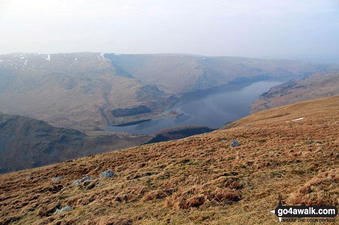 Haweswater Reservoir from Branstree (Artlecrag Pike)
