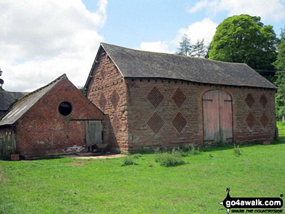 Brick Barn at Burcote House