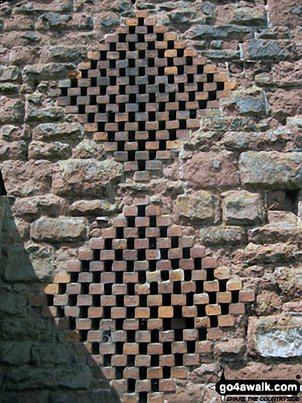 Brick Barn detail at Burcote House