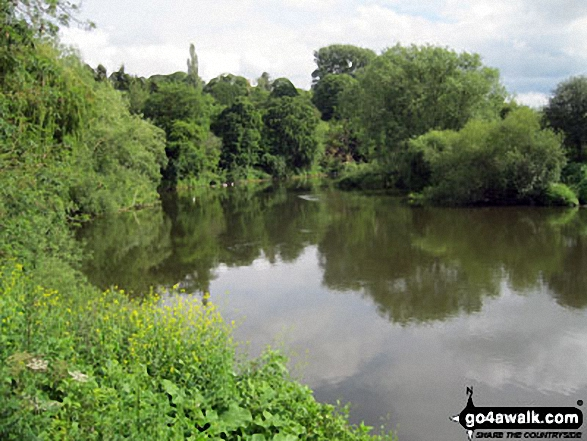 The River Severn at Quatford