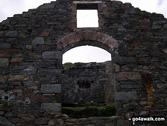 Ruin on the Miners' Track, Snowdon (Yr Wyddfa)