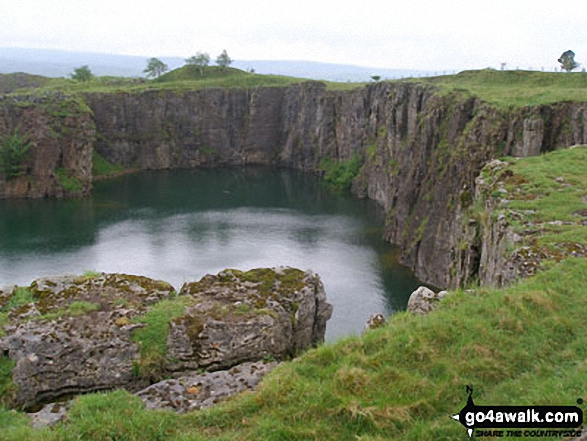 Quarry near Stable Edge, Newbiggin