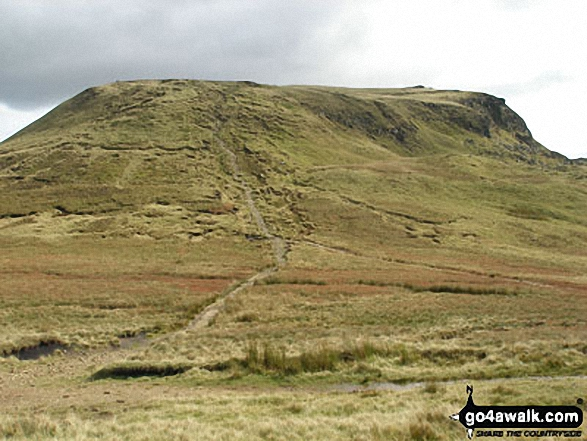 The Kinder Plateau from Mill Hill (Ashop Head)