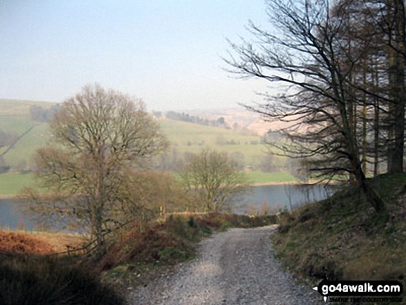 Ladybower Reservoir from Hagg Side Woods