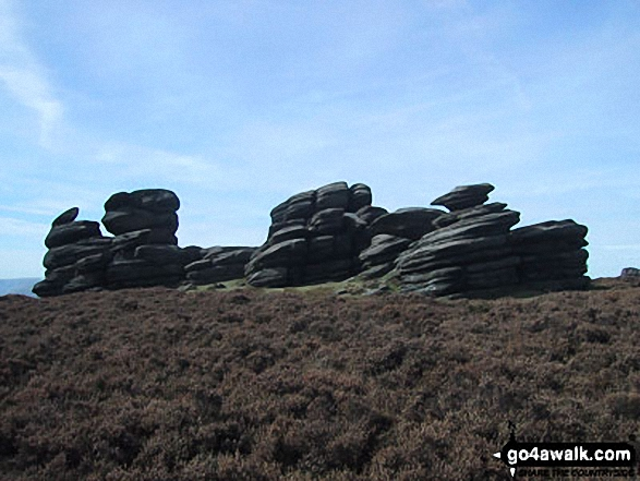The Wheel Stones, Derwent Edge