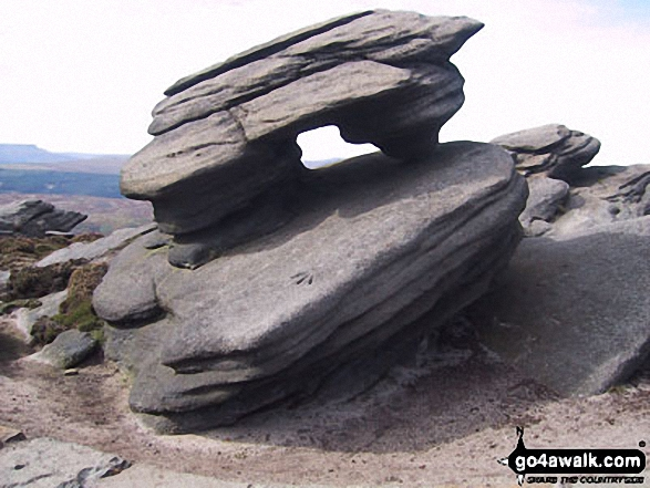 The Dove Stone (Boulder), Derwent Edge
