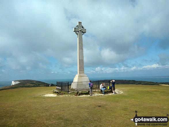 Tennyson's Monument on Tennyson Down