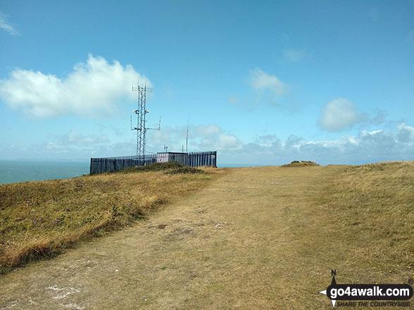 Radio Mast on Tennyson Down