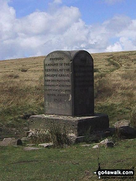 Pilgrim's Cross, Holcombe Moor
