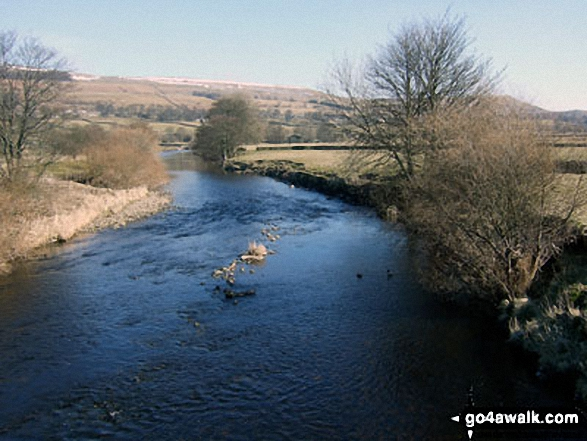 The River Ure from Worton Bridge