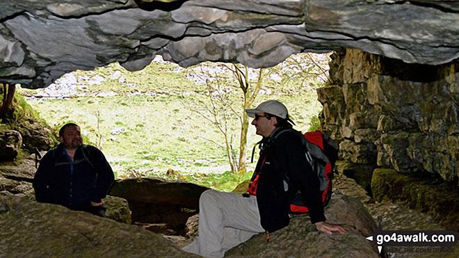 Troglodytes in Lathkill Head Cave, Lathkill Dale