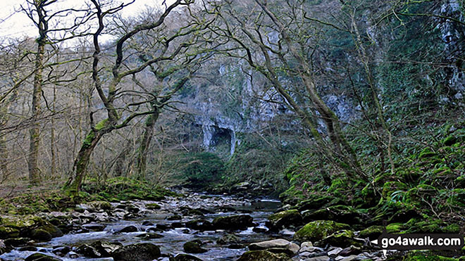 The River Twiss on The Ingleton Waterfalls Trail
