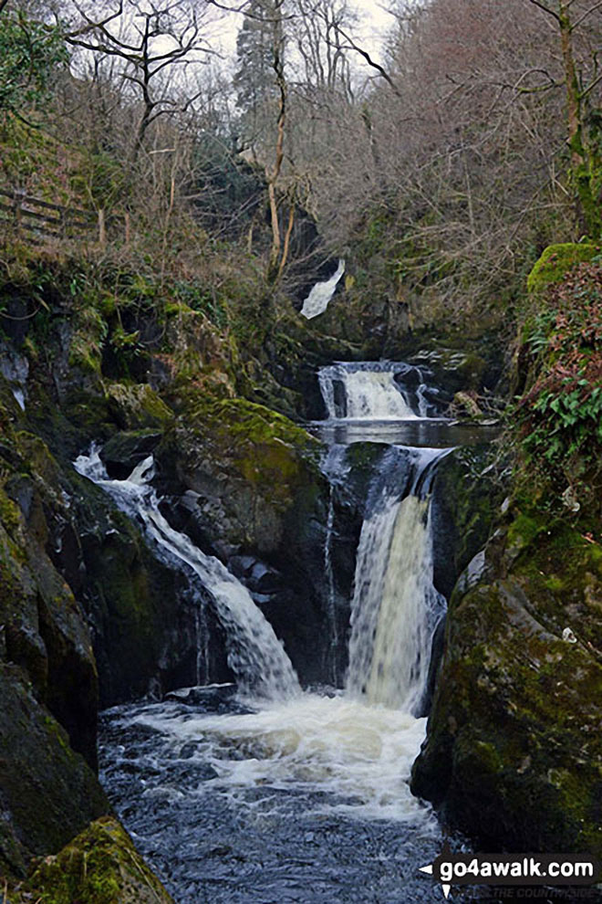 Peca Falls on The Ingleton Waterfalls Trail