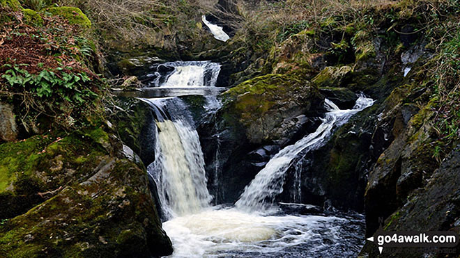Lower Peca Falls on The Ingleton Waterfalls Trail