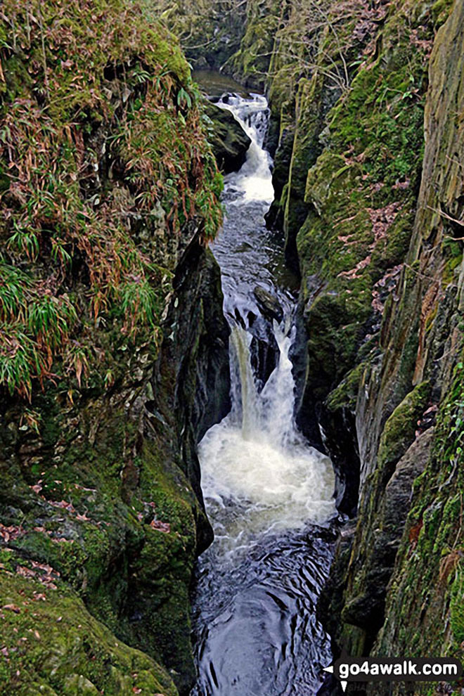 Baxenghyll Gorge on The Ingleton Waterfalls Trail