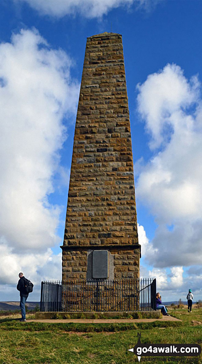 Captain Cook's Monument on Easby Moor