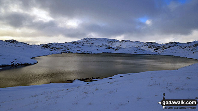 Sprinkling Tarn in the snow
