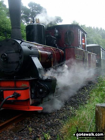 Brecon Mountain Railway Steam Engine
