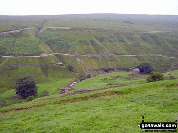 West Stones Dale from the Pennine Way on Stonesdale Moor