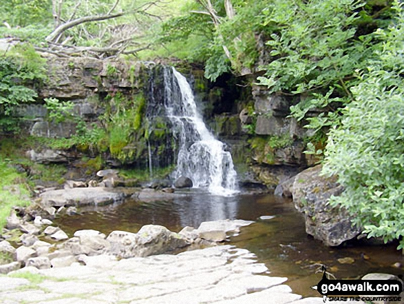 Catrake Force Waterfall at Keld