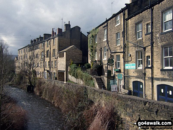 'Nora Batty's' House from BBC TV's 'Last of the Summer Wine', Holmfirth
