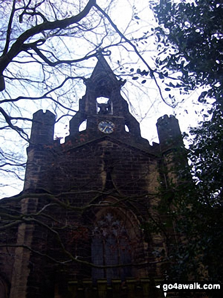 Netherthong church