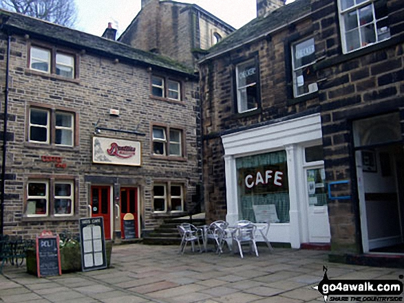 'Sid's Cafe' from BBC TV's 'Last of the Summer Wine', Holmfirth
