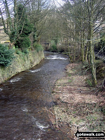The River Holme, Holmfirth