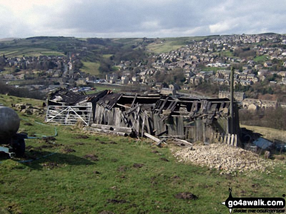 Old shed above Holmfirth