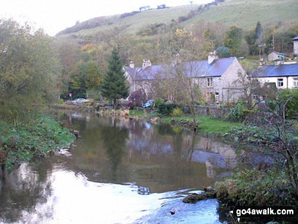 The River Wye at Litton Mill