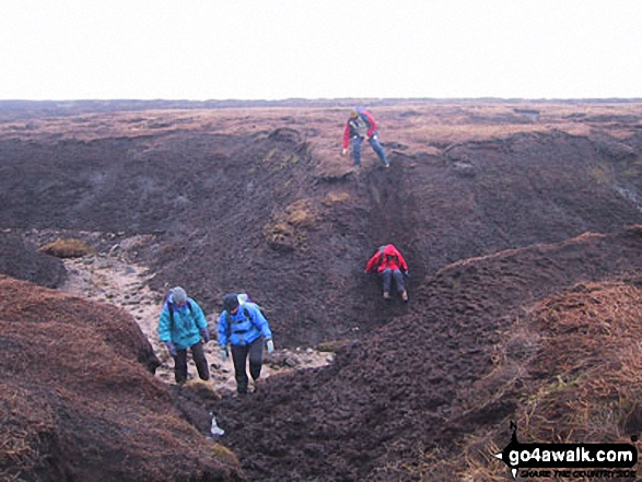 Peat Groughs on Bleaklow Hill