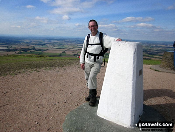 Brian on top of The Wrekin