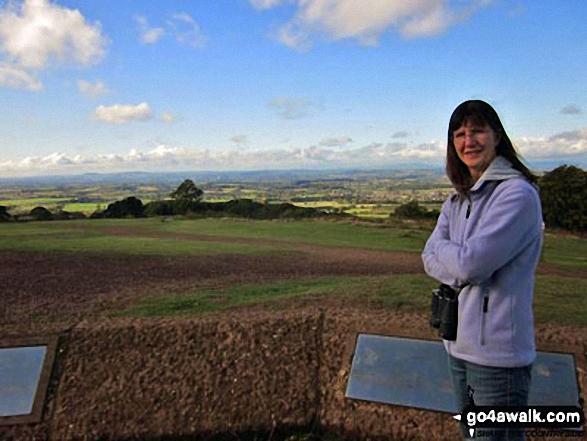 Ann on Clent Hills