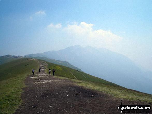 Colma di Malcesine from Cime di Ventrar (Monte Baldo)